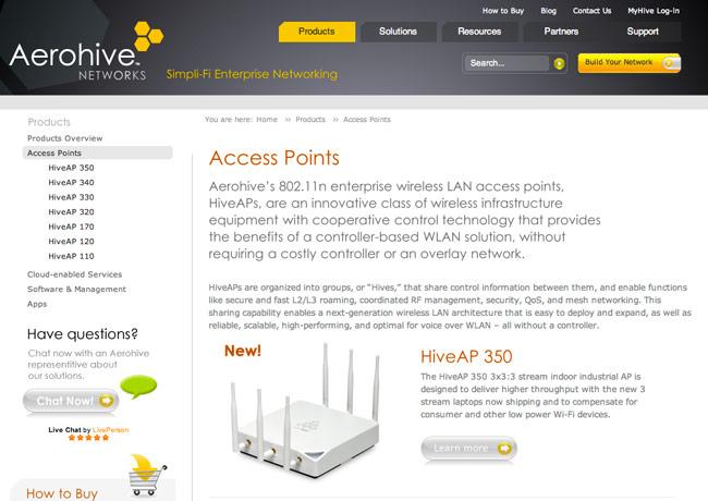 aerohive-website