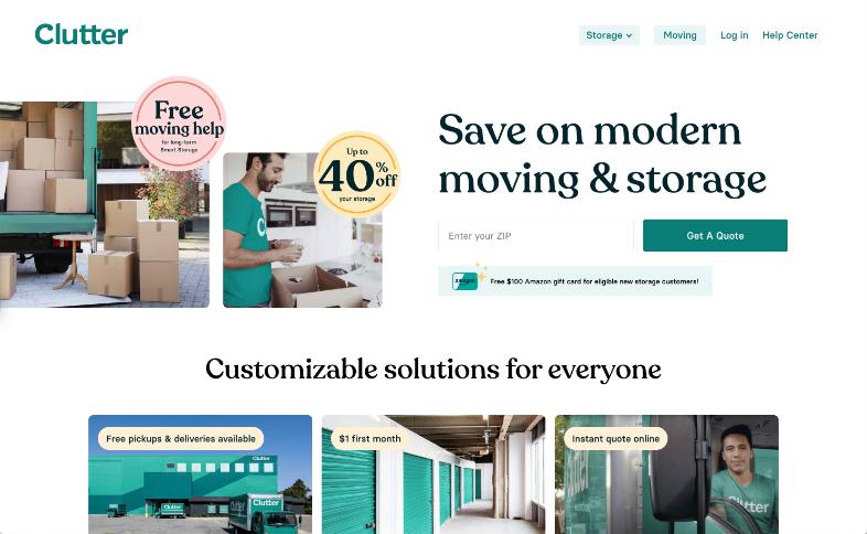 clutter-website