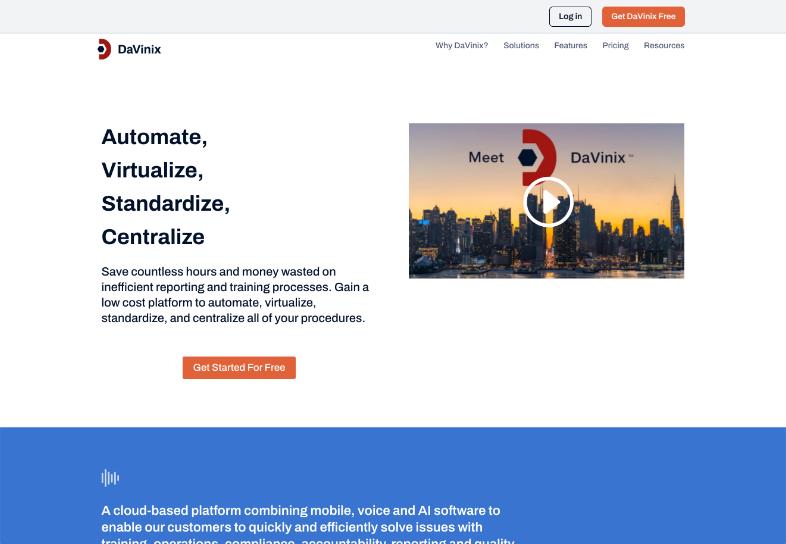 davinix-website