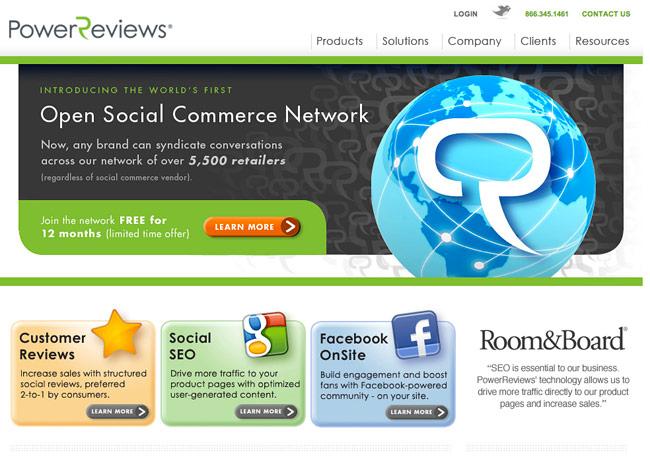 power-reviews-website