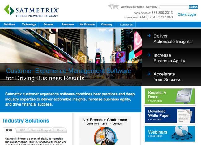 satmetrix-website